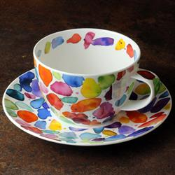 Breakfast Cup and Saucer | Blobs