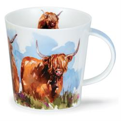 Highland cow by Cairngorm