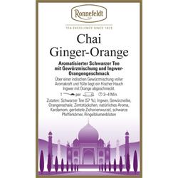 Chai Ginger-Orange
