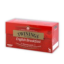 Twinings English Breakfast | Teebeutel | 25 x 2 gr.