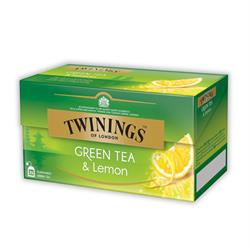 Twinings Green Tea Lemon | Teebeutel | 25 x 1,6gr.