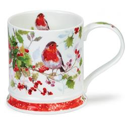 Robins Christmas Holly by Iona
