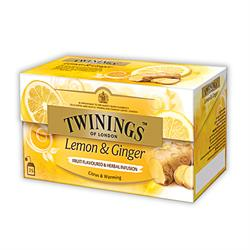 Twinings Lemon & Ginger | Teebeutel | 25 x 1,5gr.