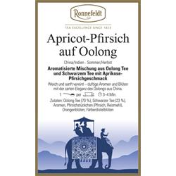Apricot-Pfirsich auf Oolong