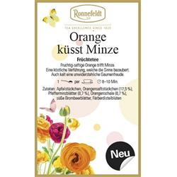 Orange küsst Minze
