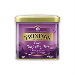 Twinings Pure Darjeeling | 100 gr. Metalldose