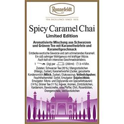 Spicy Caramell Chai | Limited Edition