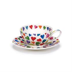 Tea for One Cup & Saucer | Warm Hearts