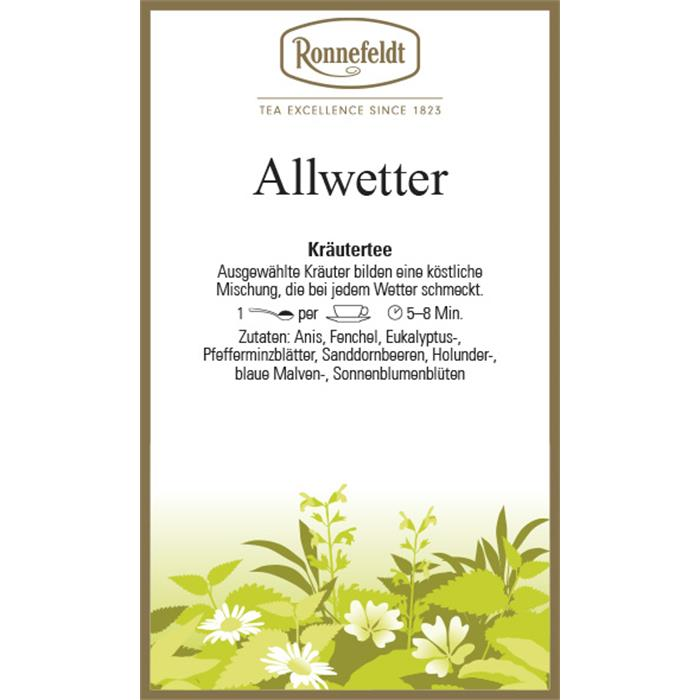 Allwetter | 500 gr. in Chromdose