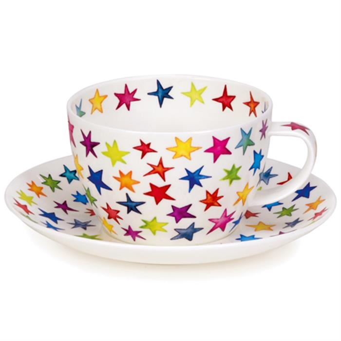 Breakfast Cup and Saucer | Starburst