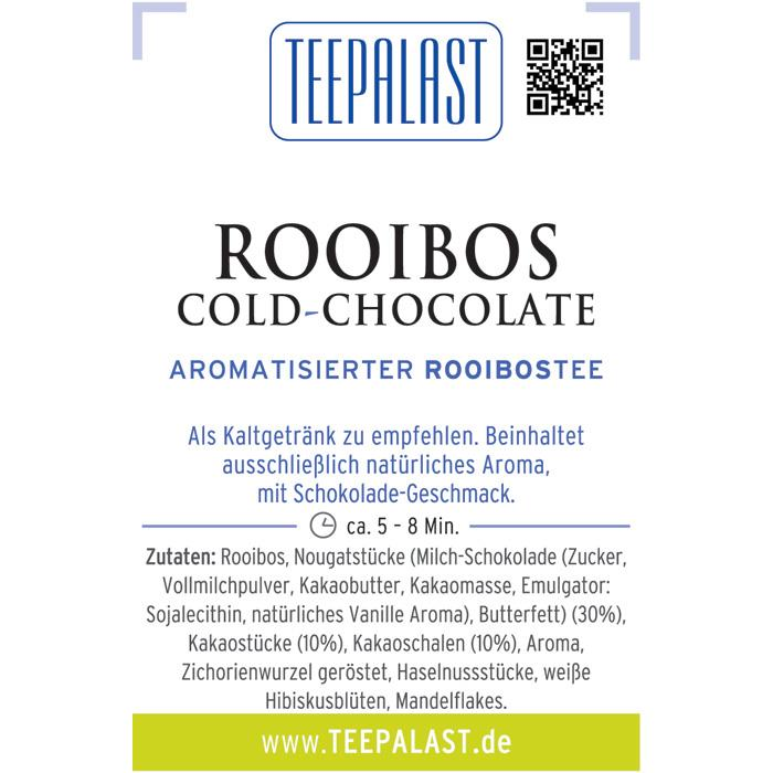 Rooibos Cold Chocolate
