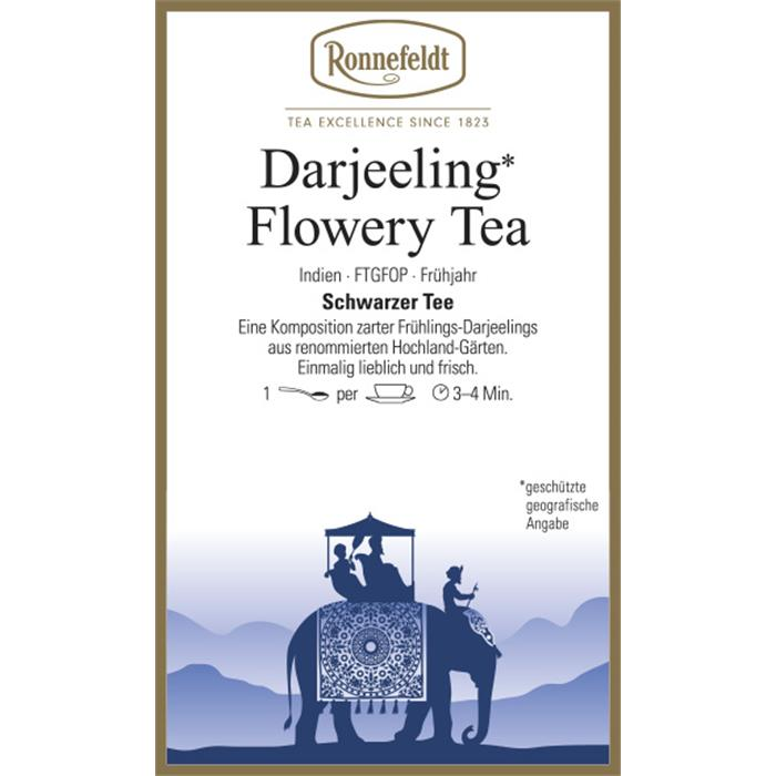 Darjeeling Flowery Tea | 100 gr. in Chromdose