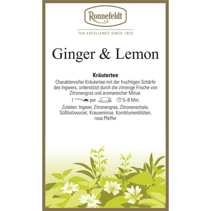 Ginger & Lemon | 500 gr.