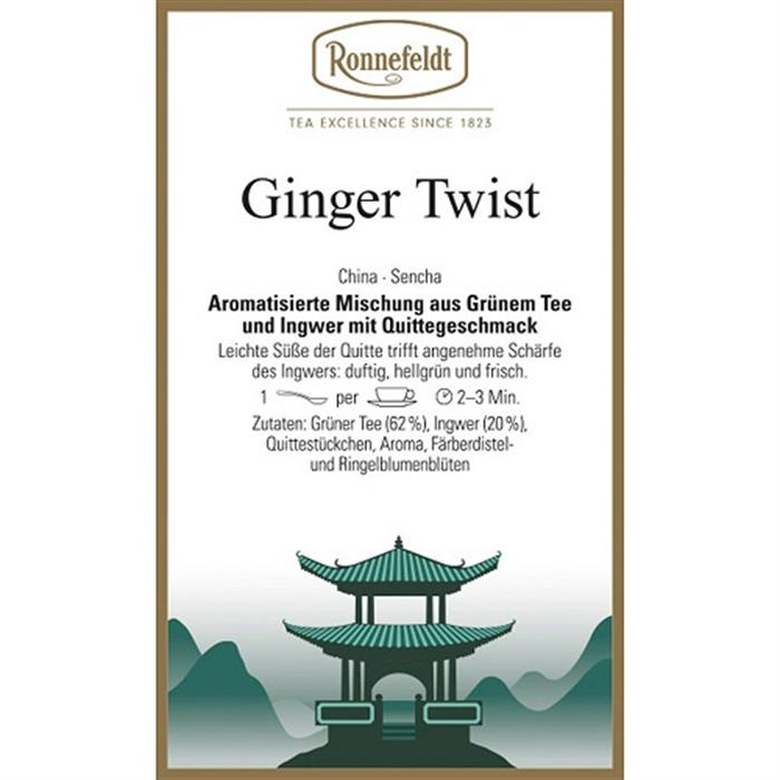 Ginger Twist 500 gr. in Chromdose