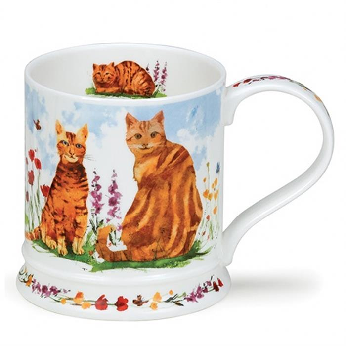 Garden cats by Iona | orange Katze