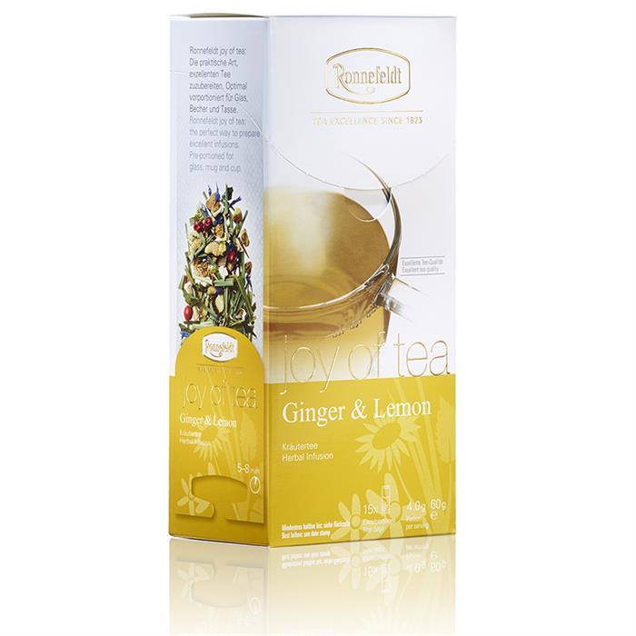 Joy of Tea | Ginger & Lemon