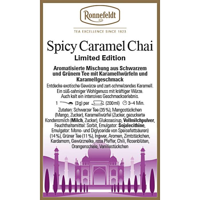 Spicy Caramell Chai | Limited Edition | 100 gr.
