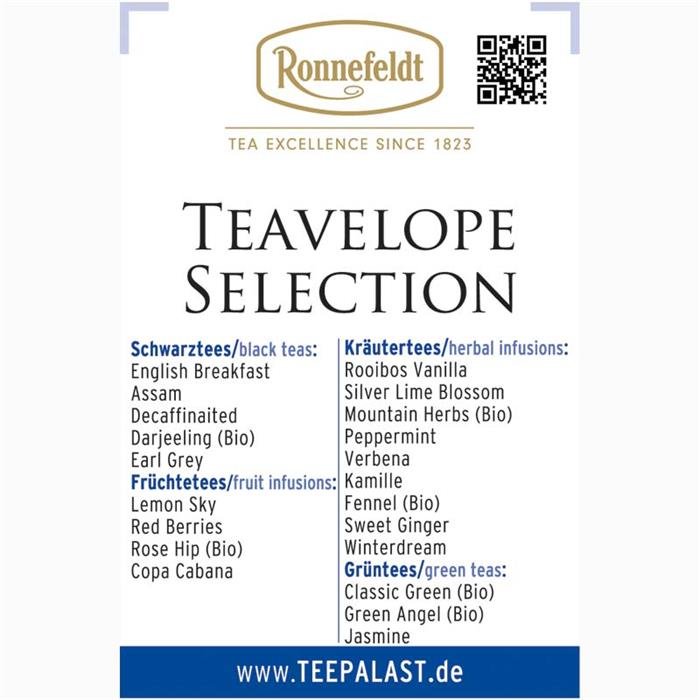 Ronnefeldt | Teavelope Selection