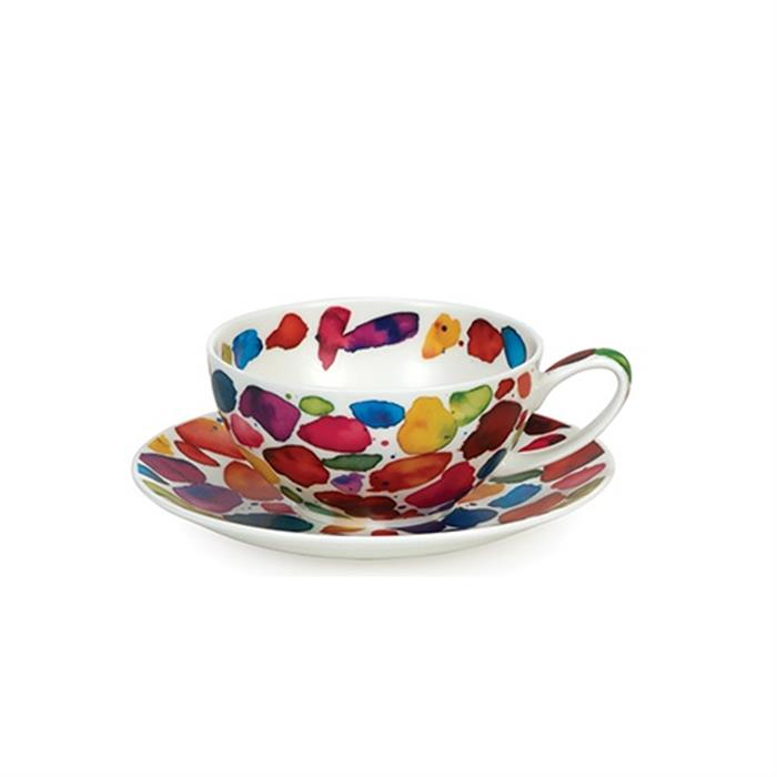 Tea for One Cup & Saucer | Blobs