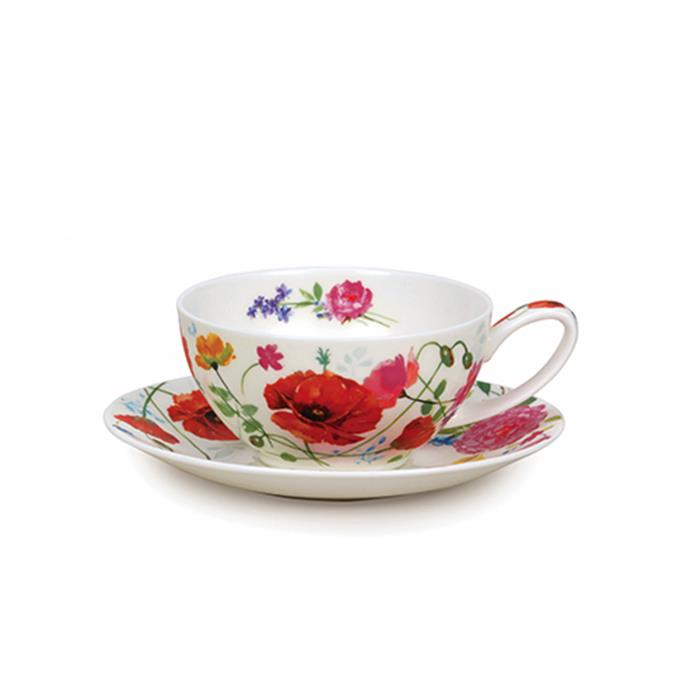 Tea for One Cup & Saucer | Wild Garden