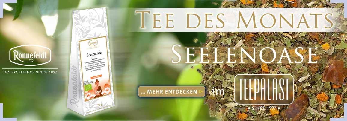Tee des Monats Joy of Tea Wellness TEEPALAST